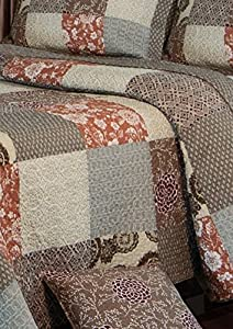 Greenland Home Fashions Stella Quilt Set by Greenland Home