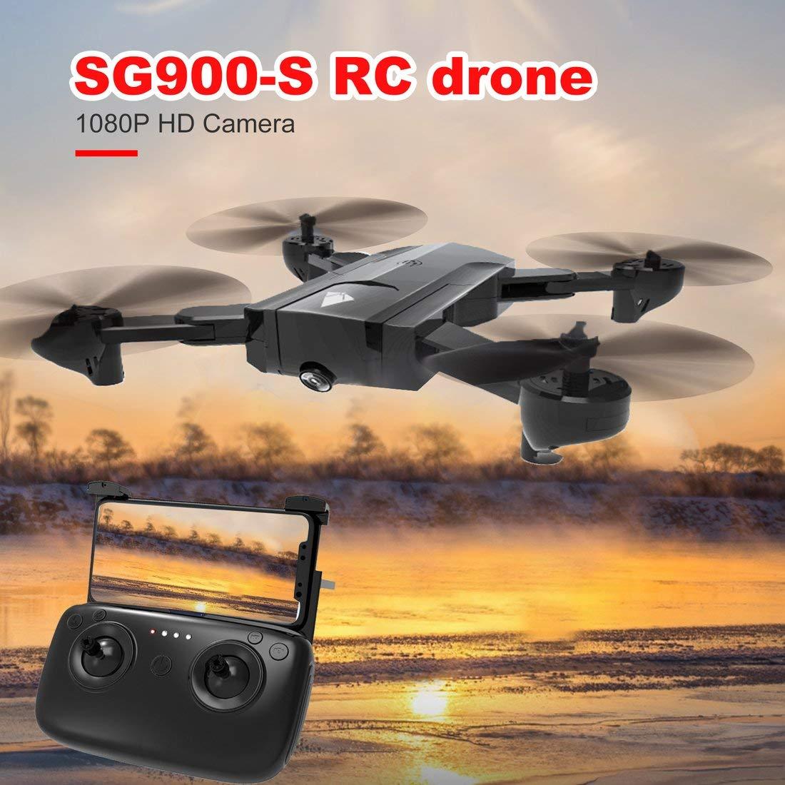 SG900-S 2.4G RC Drone Selfie Plegable Inteligente GPS FPV ...