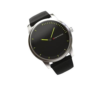IP68 impermeable reloj inteligente Bluetooth 4.0 totalmente redondeadas Bluetooth reloj para natación iphone Android Smartphones y # xFF08; Plata y # xFF09 ...