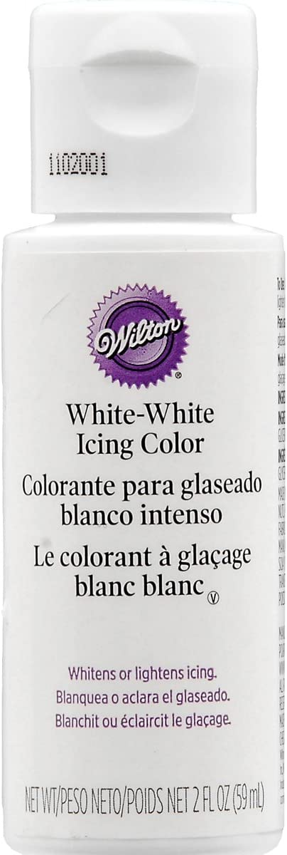 Wilton Liquid Color, 2-Ounce, White