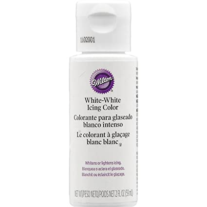 Amazon.com: Wilton 603-1236 Liquid Color, 2-Ounce, White: Kitchen ...