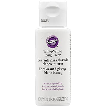 Amazon.com: Wilton 603-1236 Liquid Color, White, 2 Ounce: Prime Pantry