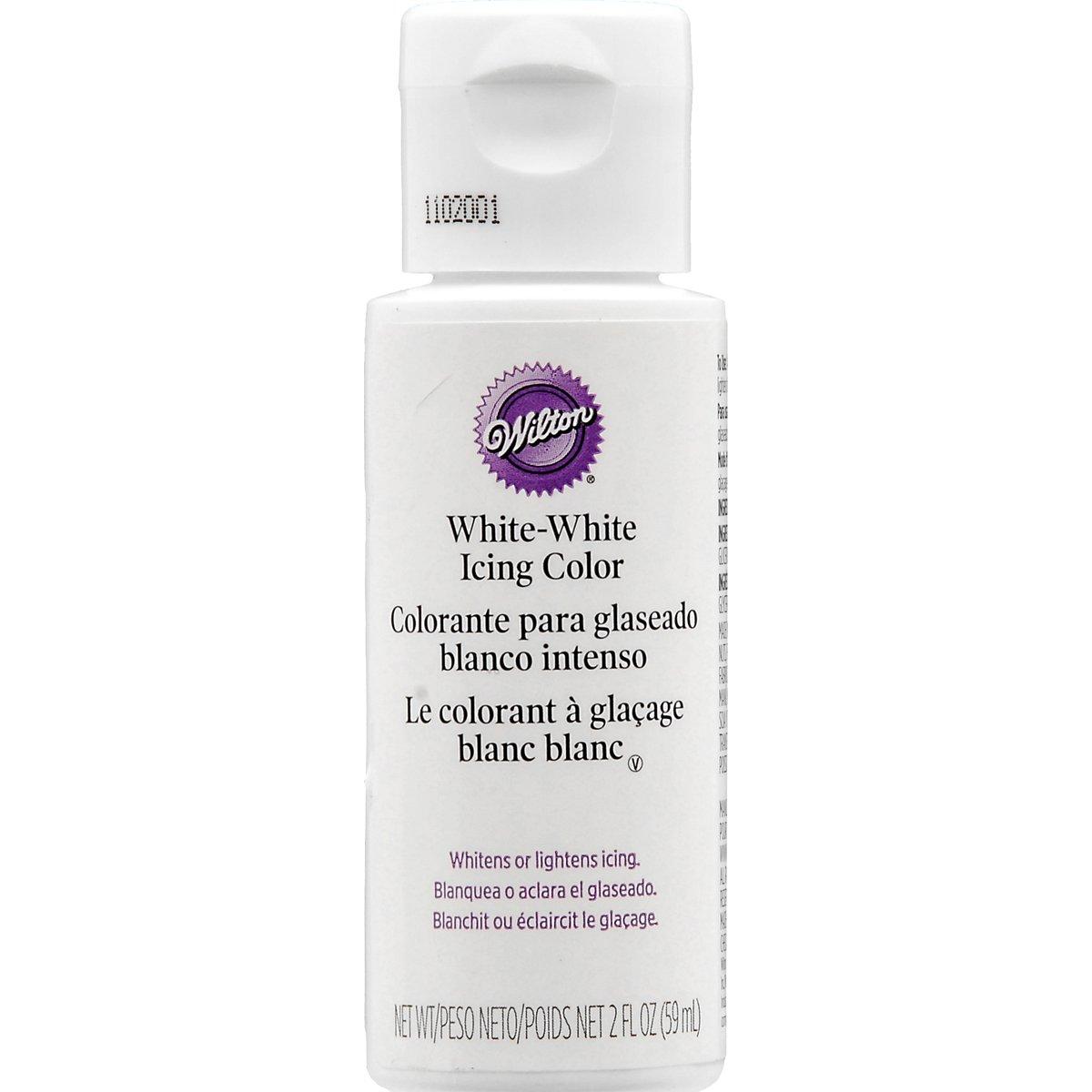 Wilton Liquid Color, 2-Ounce, White