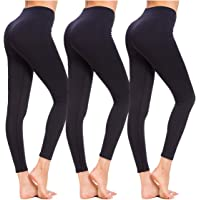 3PCS Women Workout Yoga Leggings Floral Fragrance Pants