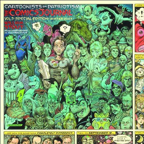 Read Online The Comics Journal Special Edition: Cartoonists on Patriotism (Vol. 3)  (The Comics Journal) pdf epub