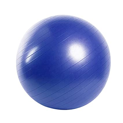 Amazon.com: Exercise Ball, with Pump Anti-Burst & Anti-Slip ...