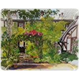 """Gien - Luxurious French Paris a Giverny Large Acrylic Serving Tray 15"""" x 19"""""""