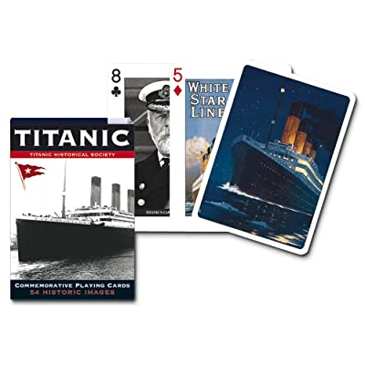 Piatnik 00 1423 Titanic Playing Cards: Toys & Games