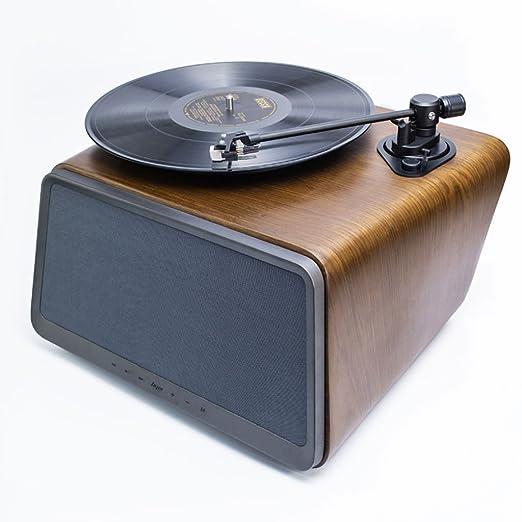 MUSIC Reproductor de Discos de Vinilo, Reproductor de Discos de ...