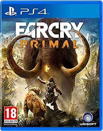 Amazon Com Far Cry Primal Ps4 Video Games