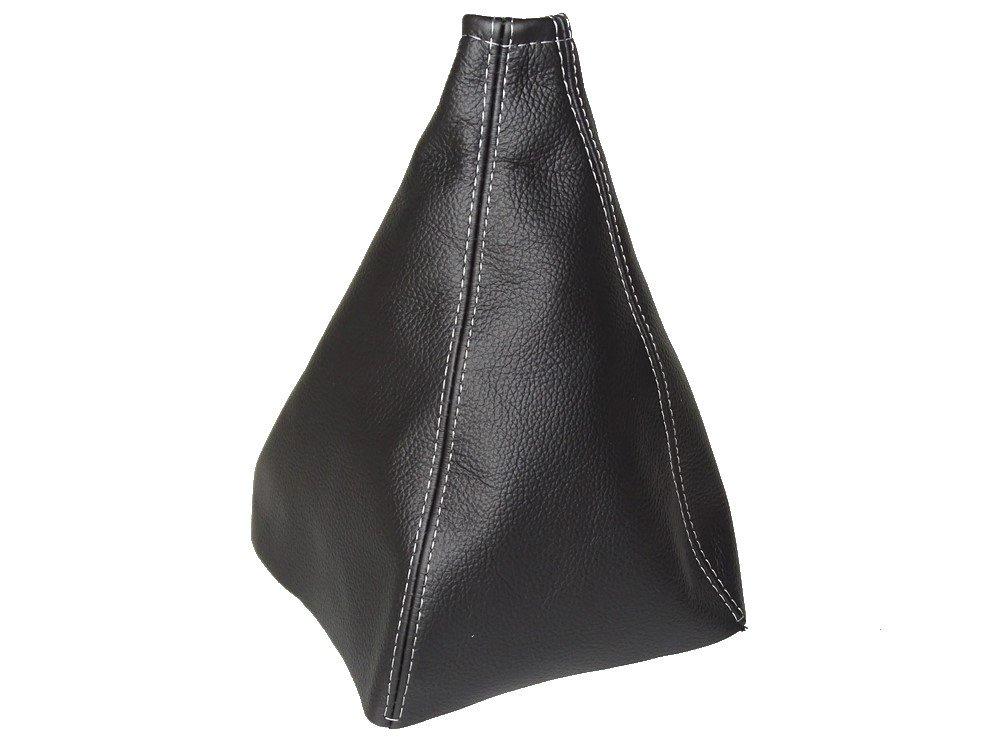 Per Great Wall Wingle 3 V 240 2009 –  11 pomello del cambio in pelle nera cuciture bianche The Tuning-Shop Ltd
