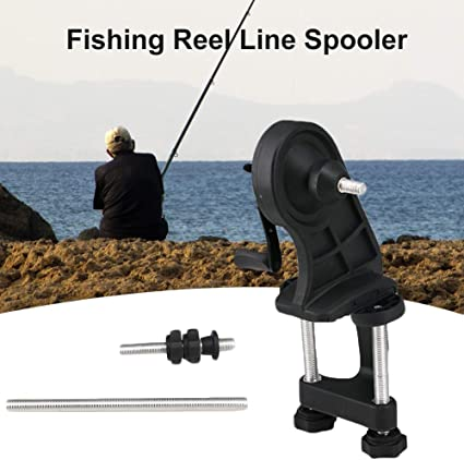 Fishing Line Winder Reel Line Spooler Spooling Winding System Tackle SS6