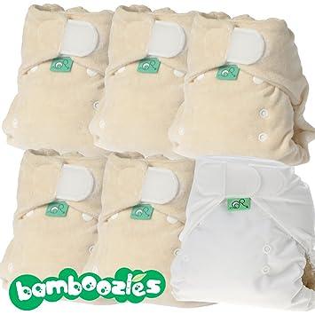 totsbots plástico pañales Día del paquete Bamboozle Talla 2 (4 – 16 ...
