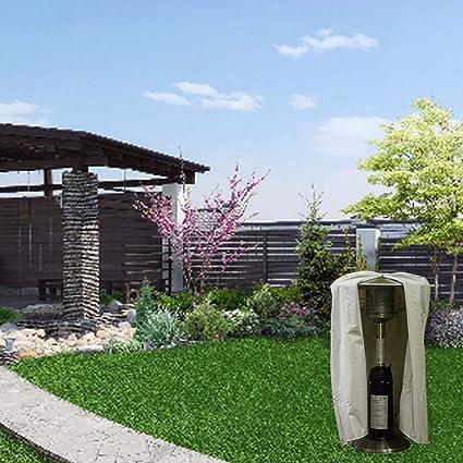 Euopat Cubierta del Calentador de Patio, Cubierta del Calentador de Patio para Calentadores eléctricos Tejidos Oxford Resistentes e Impermeables para Exteriores/jardín: Amazon.es: Hogar