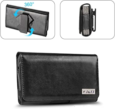 PU Leather Pouch Case w//Belt Clip Leather Wallet Case for iPhone Xs Case Fits with Regular /& Bulky Case On J/&D Holster Compatible for iPhone 11 Pro//iPhone Xs//iPhone X//iPhone 8//iPhone 7 Holster