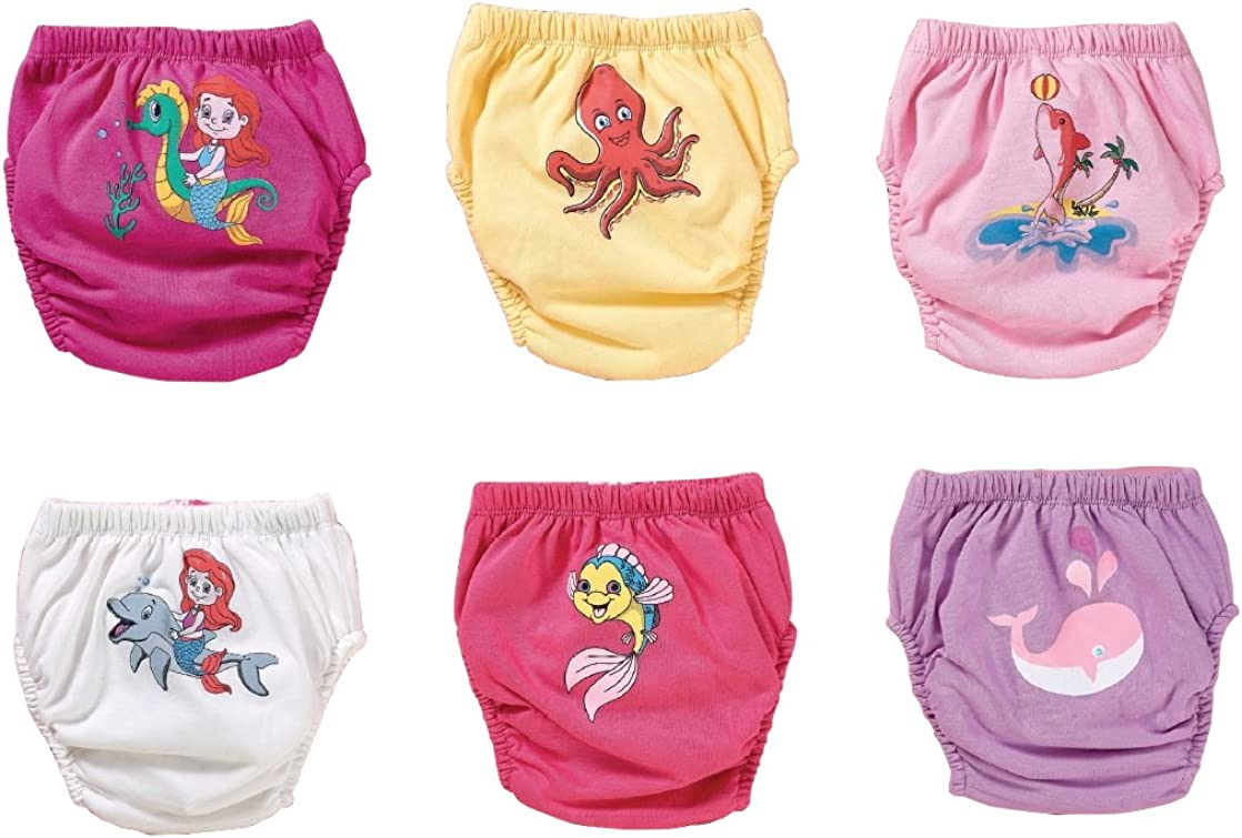 reusable toddler nappy pants Multicolour baby underwear clean toilet training Ozyol Potty Training Pants trainer nappies L learning nappies pack of 6