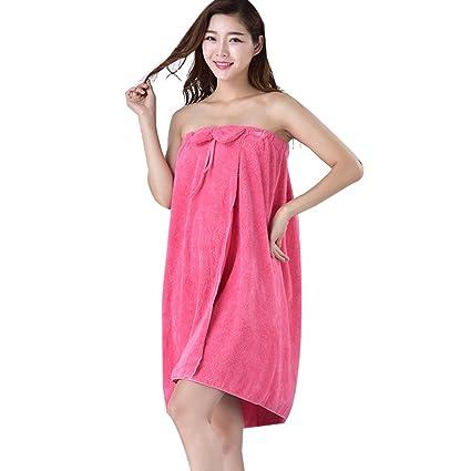 lylxs sujetador Top Sexy albornoz toalla de baño, 5, 140*70cm