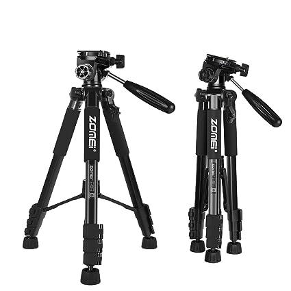 ZOMEi Z666 Trípode Viaje Ligero para Cámaras Reflex Canon Nikon ...