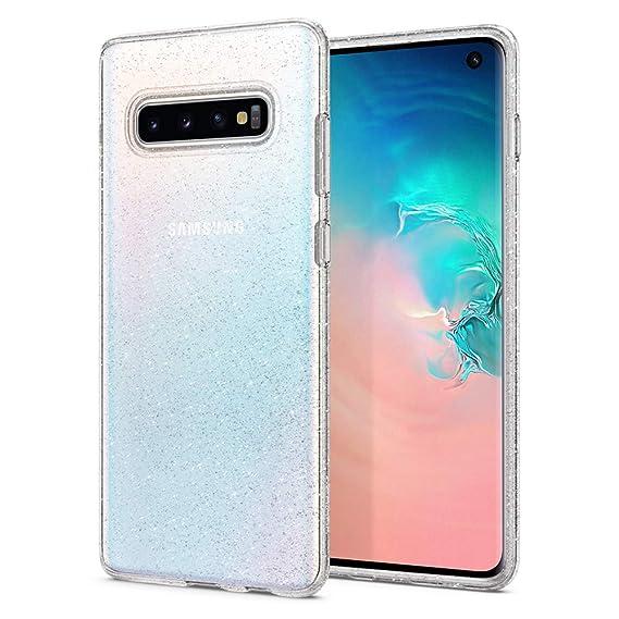 pick up 86238 fa881 Spigen Liquid Crystal Glitter Designed for Samsung Galaxy S10 Case (2019) -  Crystal Quartz