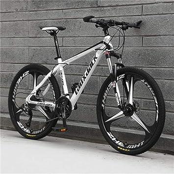 WJSW Montar Bicicleta de montaña amortiguadora, 26 Pulgadas de ...