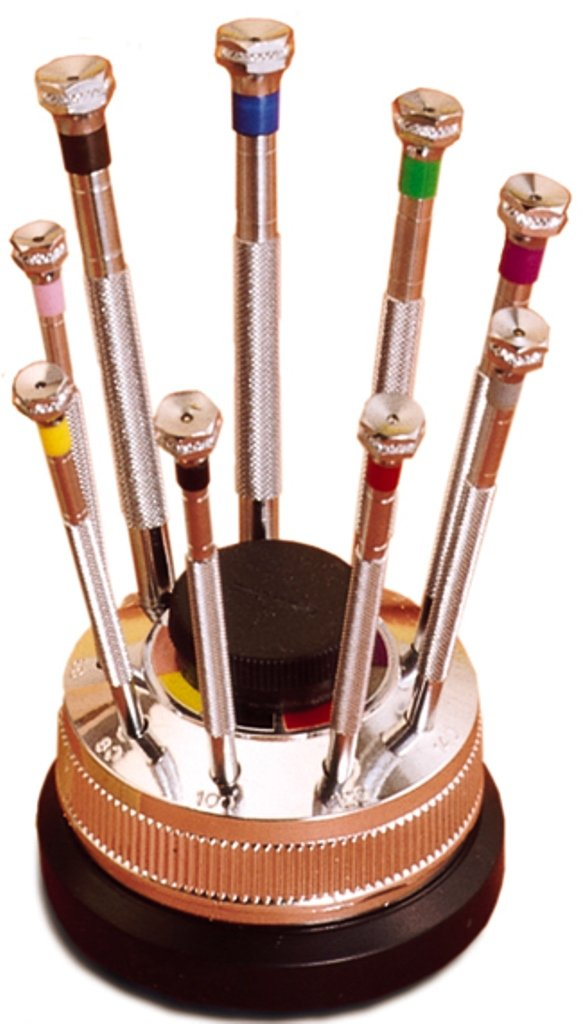 Screwdrivers Watchmaker Set of 9