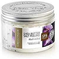 Organique Shea Butter Tuzlu Peeling, Orkide 1 Paket (1 x 450 g)