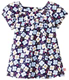 Zutano Little Girls' Blaue Blumen Short Sleeve Viola Top