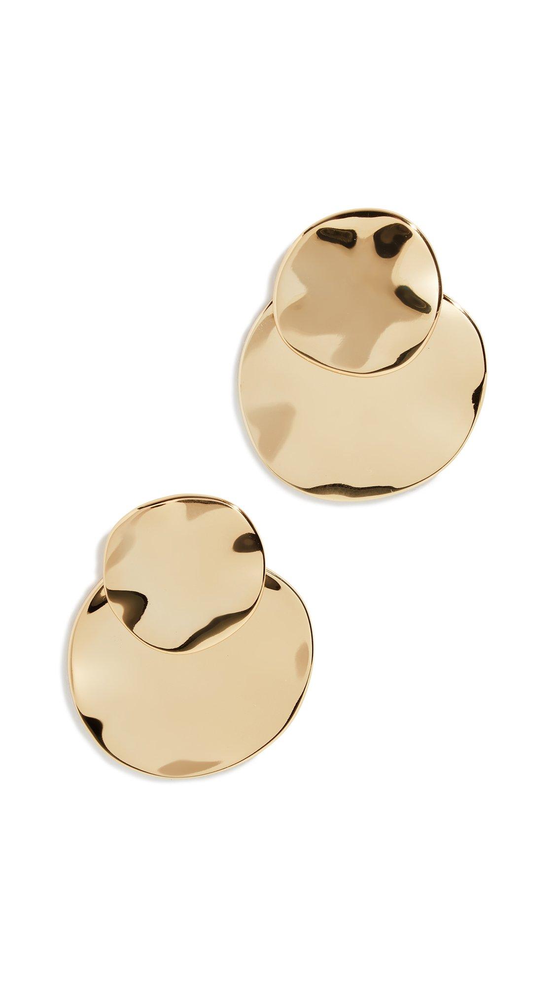 Gorjana Women's Chloe Ear Jackets, Yellow Gold, One Size
