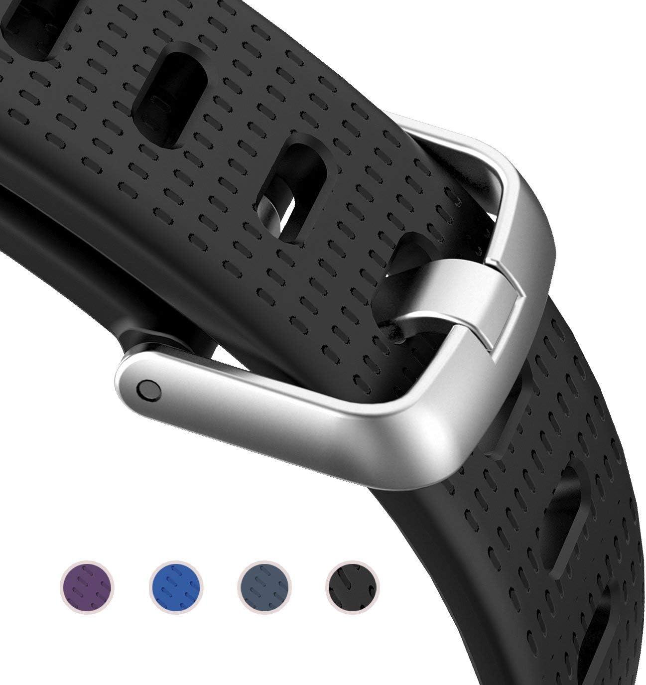ZURURU ID130Plus HR / ID130Plus Color HR Replacement Band for Letscom, Lintelek, Letsfit ID130Plus HR / ID130Plus Color HR Fitness Tracker