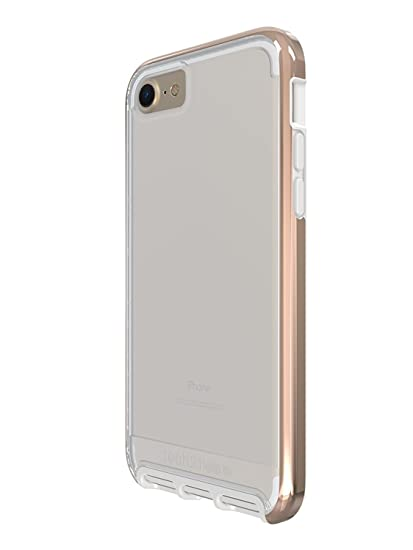 official photos 0acba dd454 Tech21 Evo Elite Case for iPhone 7 - Clear Polished Gold