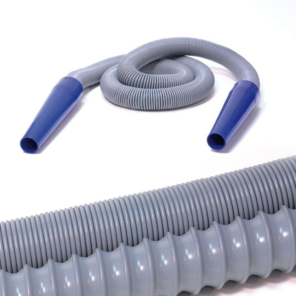 Mc Elephant Tubo di Aspirazione Flessibile per Aspirapolvere Grigio 7 m