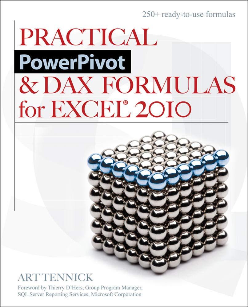 Practical PowerPivot & Dax Formulas for Excel 20 Amazon.de ...