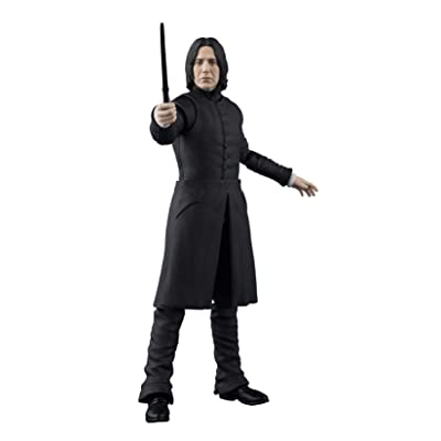 TAMASHII NATIONS Bandai S.H. Figuarts Severus Snape Harry Potter Action Figure: Toys & Games