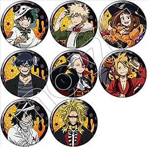 My Hero Academia Halloween Badge Button Midoriya Bakugo Todoroki All Might F/S