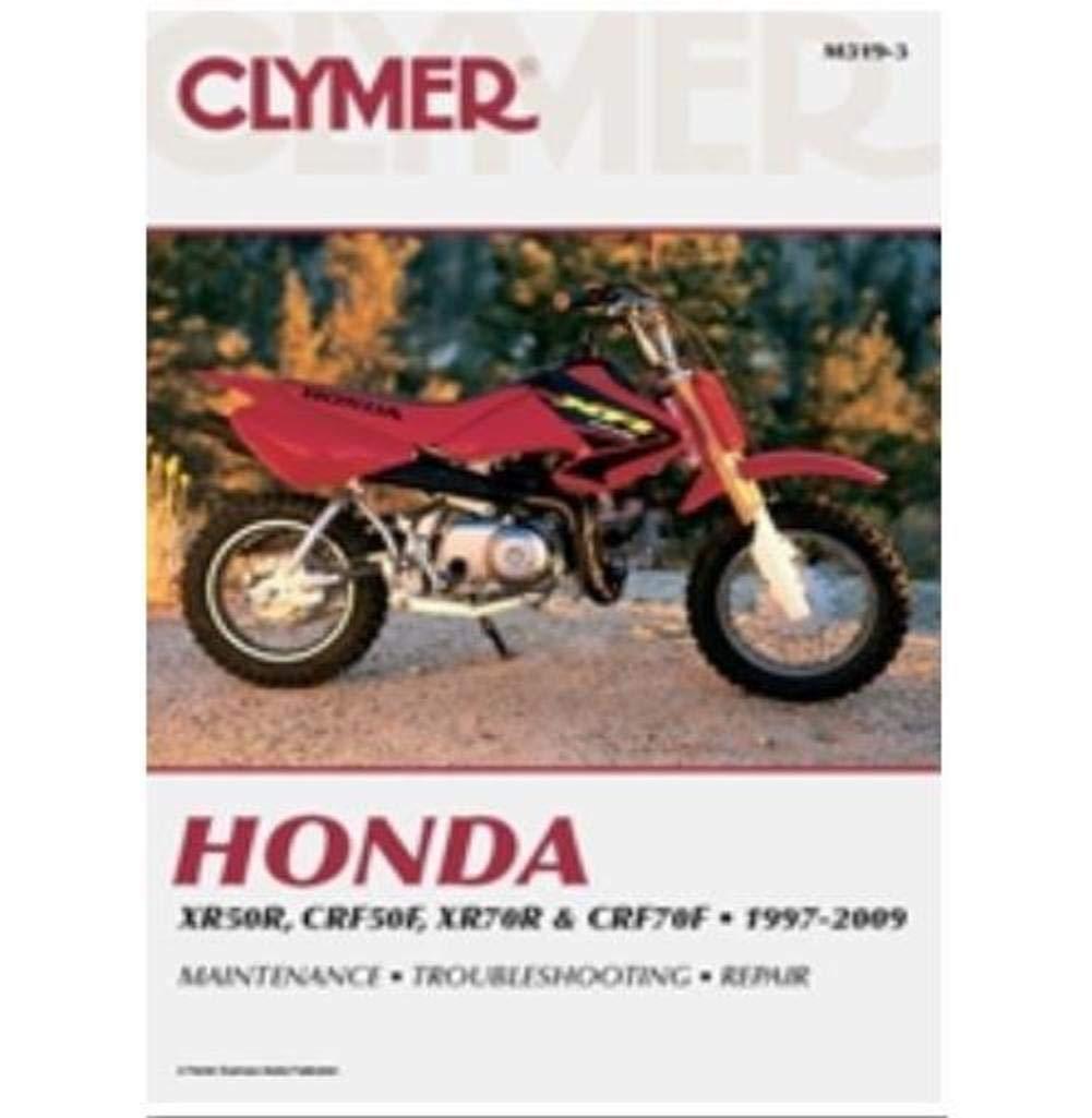 Amazon.com: Clymer Repair Manual for Honda XR50R/70R CRF50R/70F 97-05:  Automotive