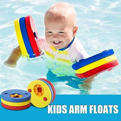 Makone Kids Arm Float Discs, Swim Arm Brand Set Swimming Armbands for Pool (6 pcs/Set): Toys & Games