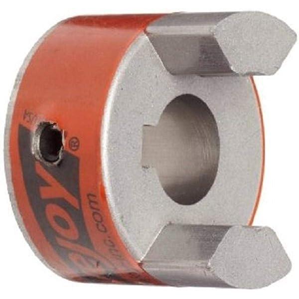 L100 1-1//8 L-Jaw Coupling Hub Sint Iron