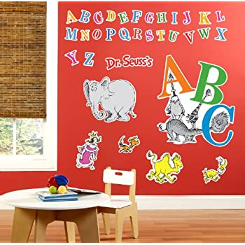 Dr Seuss ABC Room Decor   Giant Wall Decals Part 79
