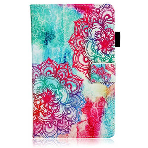 Ultrathin Magnetic Foldable Cover for LMFULM® Closure Pattern and Stent Leather Paper 10 Flower Tab4 Lenovo Colorful PU Plus Holster Card TB Function Slot Bookstyle Leather Inch 1 of X704F 4 Color 10 Case 6OwqU6na