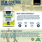 Alleviate Hem-Control Hemorrhoid Treatment Bundle - Specially Priced Hemorrhoid Relief Pack Containing Alleviate Ointment and Hem-Control Nutritional Supplement with a Bonus