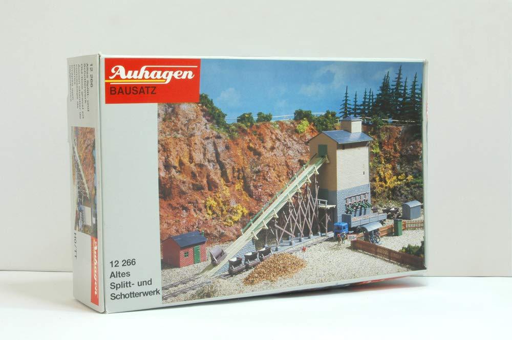 Auhagen 12266 Altes Splitt und Schotterwerk in H0//TT Bausatz