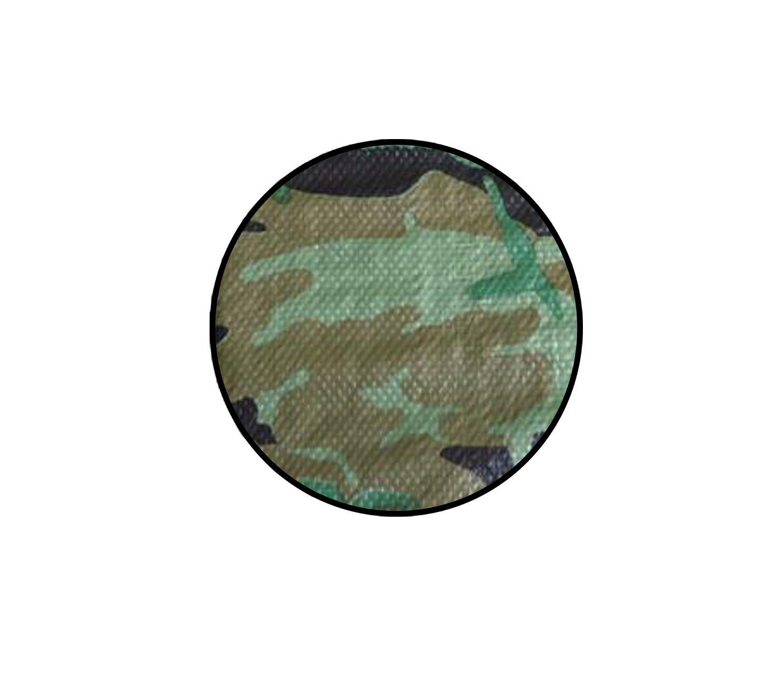 Yuzet 3.5m x 5.4m camouflage tarpaulin waterproof sheet cover ground camo