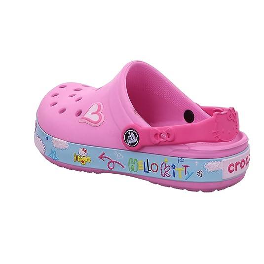 Pantoletten CROCS Cb Hello Kitty Plane Clog 16089 Sunshine