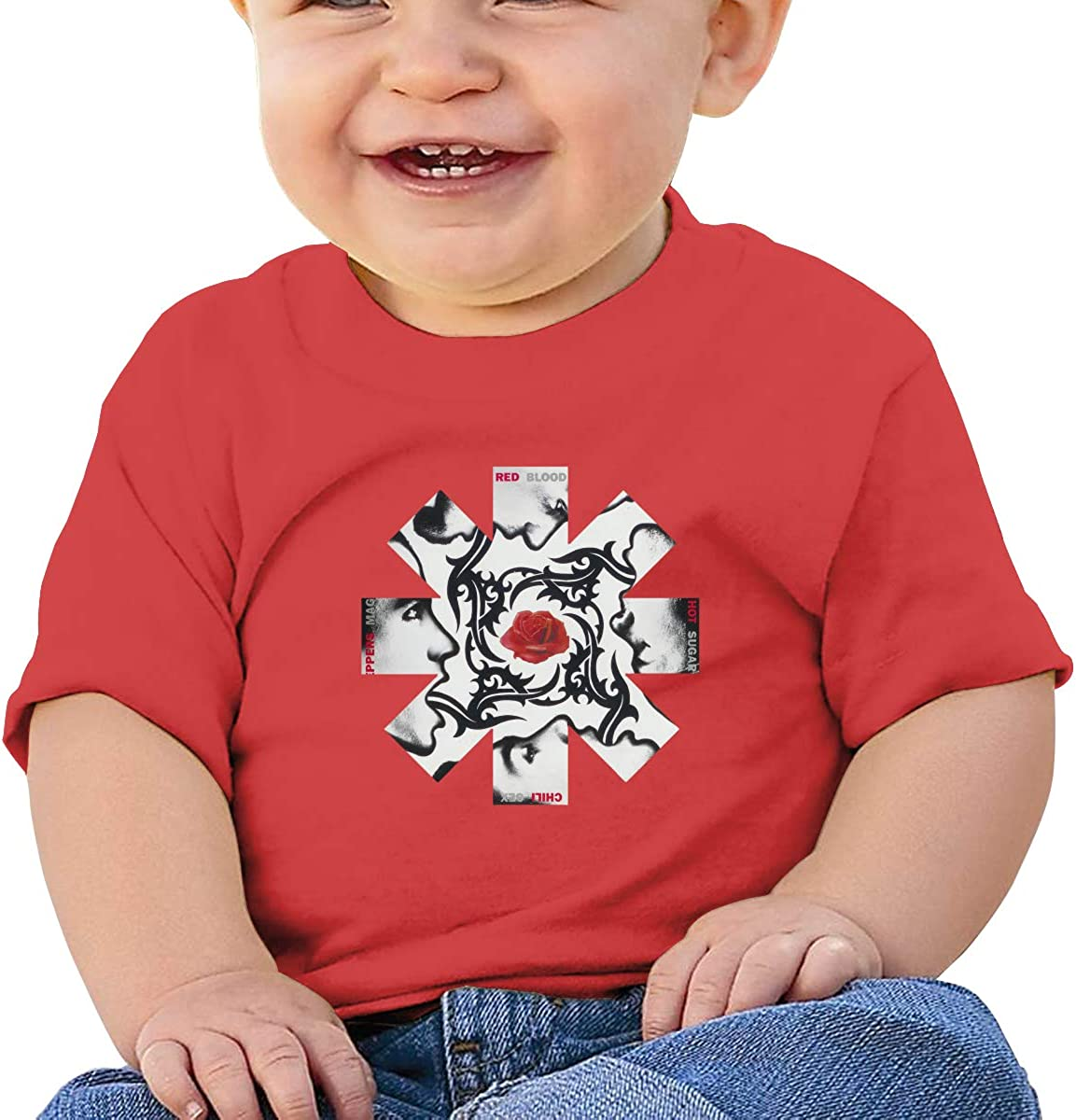 GanCheng RHCP Tee Cute Black T Shirt for Infant