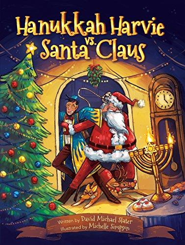 hanukkah harvie vs santa claus the chrismukkah kerfuffle by slater david michael