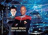 Star trek - Deep Space Nine, Collectible Postage stamp souvenir sheet, Guyana