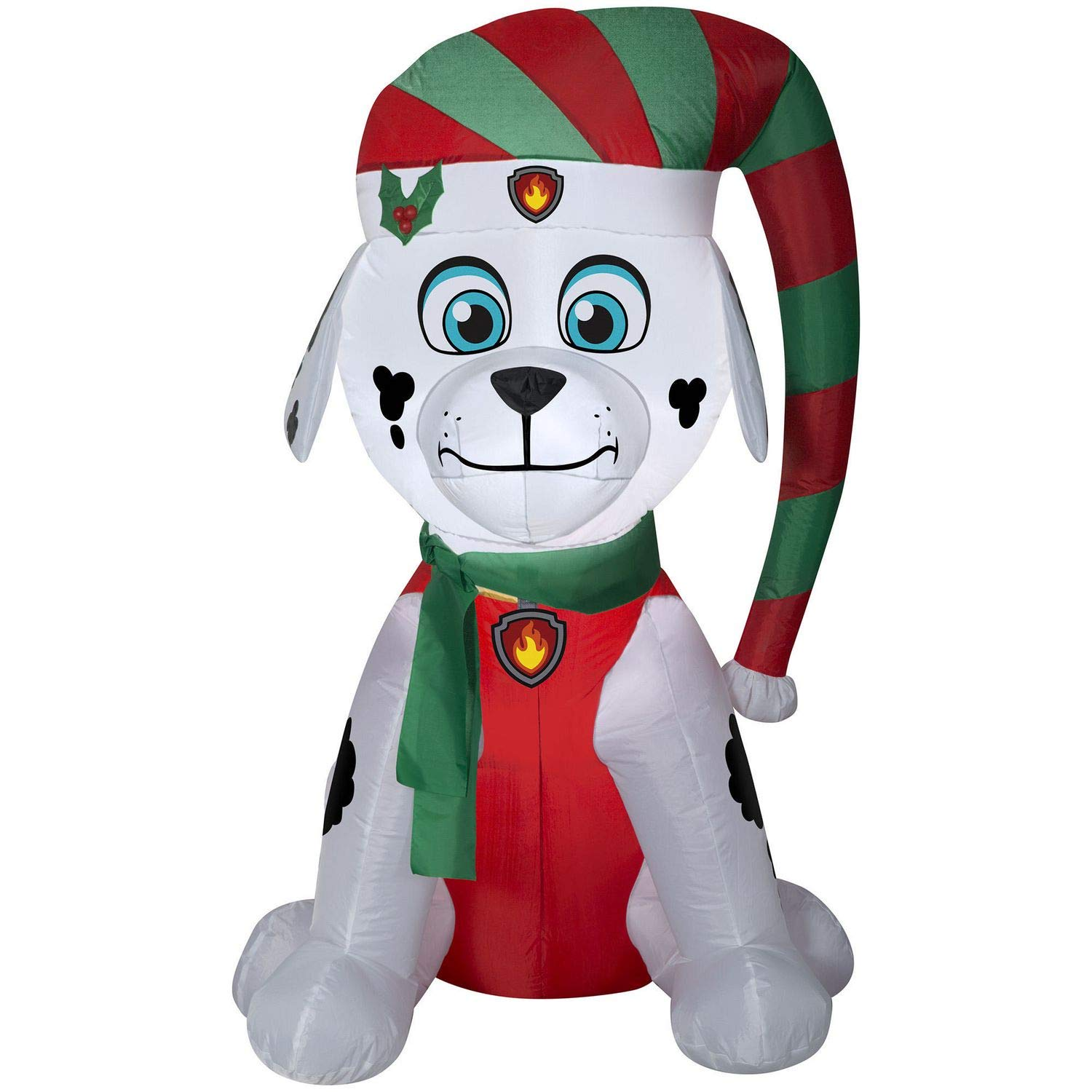 Gemmy Airblown Christmas Indoor/Outdoor PAW Patrol Marshall 4.5' Inflatable Holiday Decoratiom