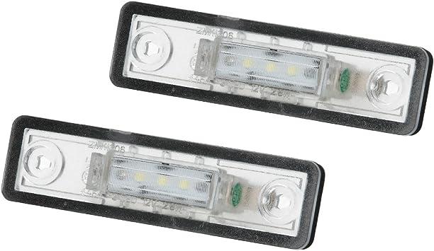 Carparts-Online 26221 LED Kennzeichenbeleuchtung wei/ß 6000K