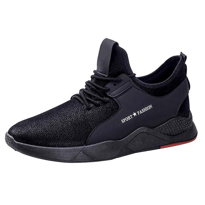 Darringls_Zapatos de hombre,Zapatillas de Running Deporte y Aire Libre Hombres montaña Calzado Gimnasio Atletismo: Amazon.es: Ropa y accesorios