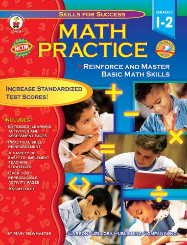 Read Online Math Practice, Grades 1 - 2: Reinforce and Master Basic Math Skills (Skills for Success) pdf epub